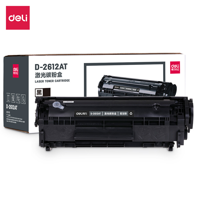 DELI Powerful Office D-2612AT/2612A Laser Toner Cartridge Laser Printer Toner Cartridge