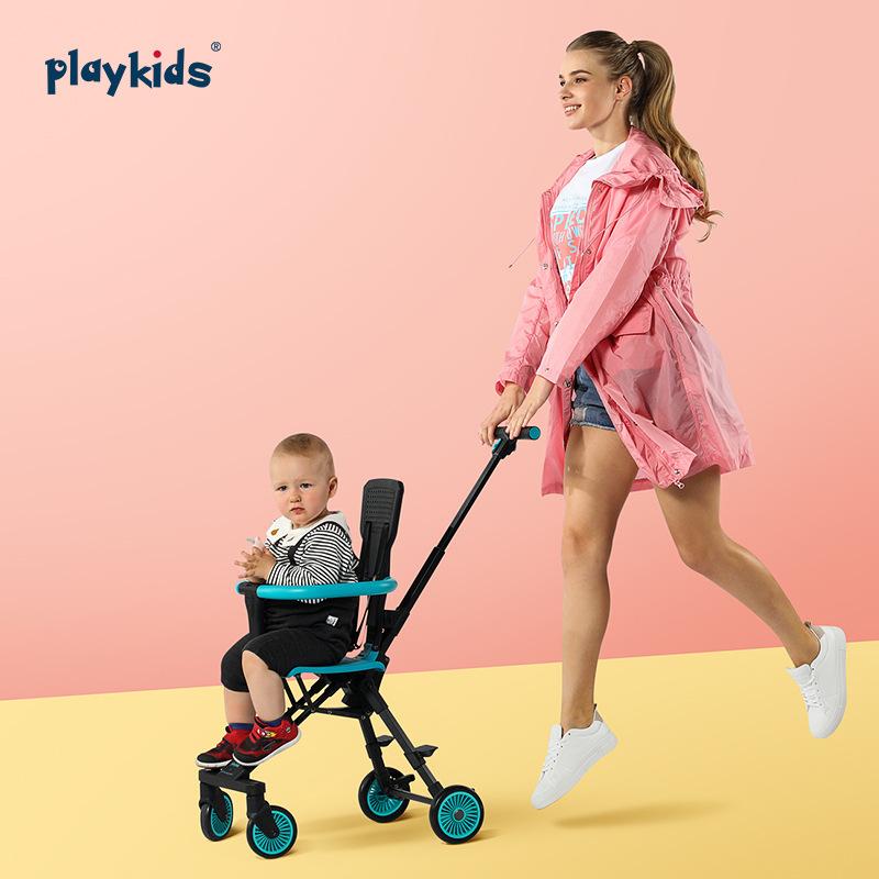 YINGJUE Xe đẩy trẻ em Mới Proko X1 trượt bé tạo tác nhỏ pudding xe đẩy em bé xe đẩy đơn giản playkid