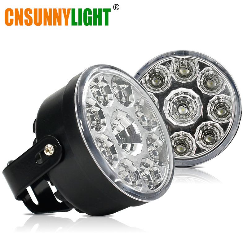 đèn xe Xe nổ xuyên biên giới làm nổi bật đèn LED chạy ban ngày sửa đổi đèn sương mù xe tải xe máy ch
