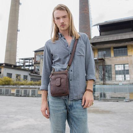 Túi xách nam cao cấp túi nhỏ đeo chéo kiểu dáng thời trang .