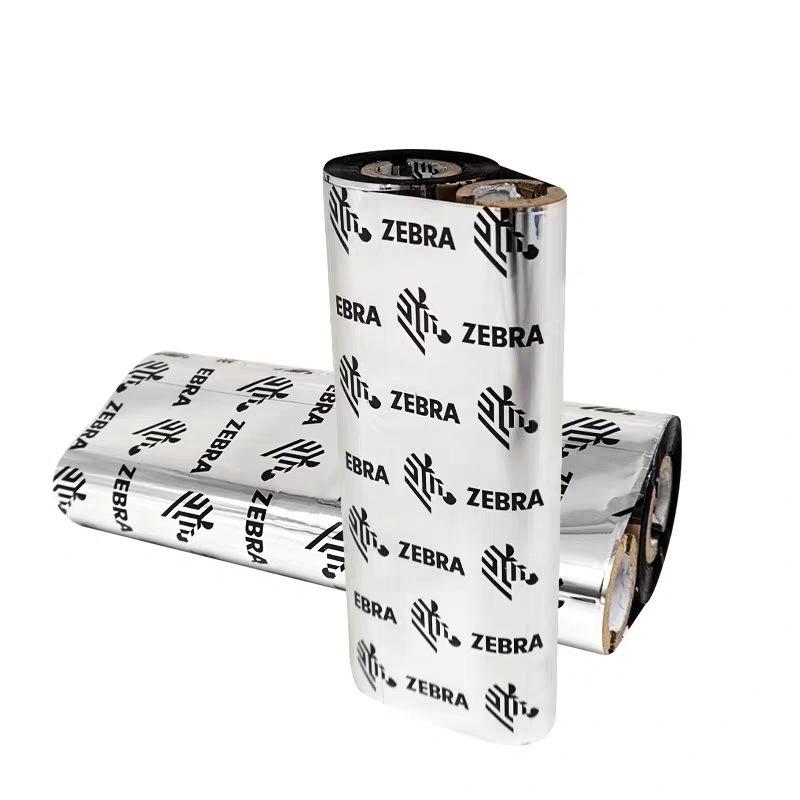 ZEBRA Zebra Ribbon A1701BK Biaxial Carbon Ribbon Coated Paper Label Ribbon Zebra GK888 Professional