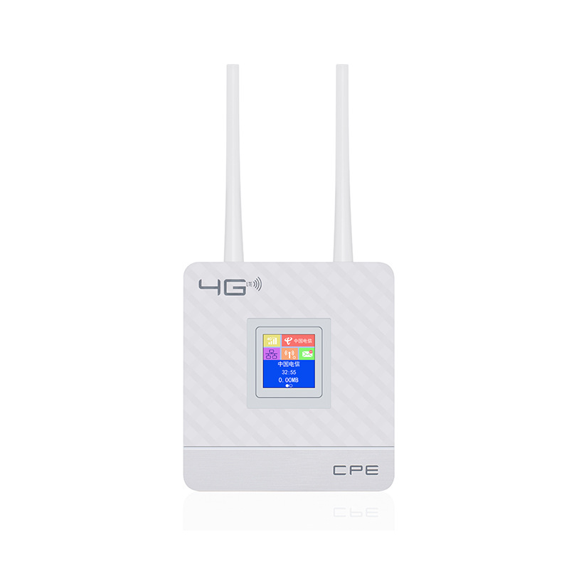 DNXT CPE home 4G wireless to wired to wireless shared network port router