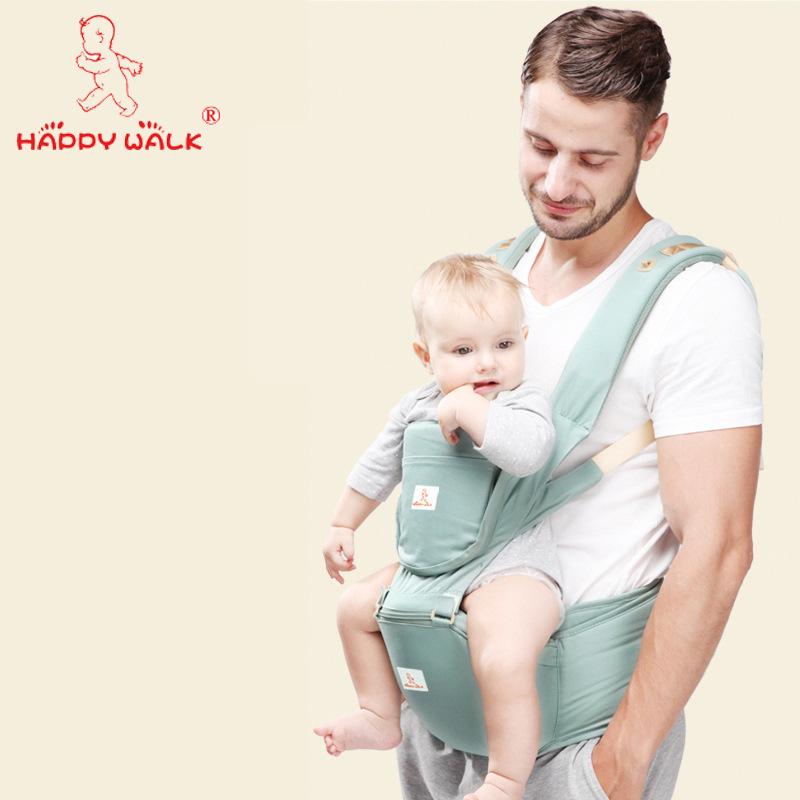 Happywalk Đai cõng bé dây đeo em bé eo phân phân đa chức năng giữ em bé dây đeo thế hệ