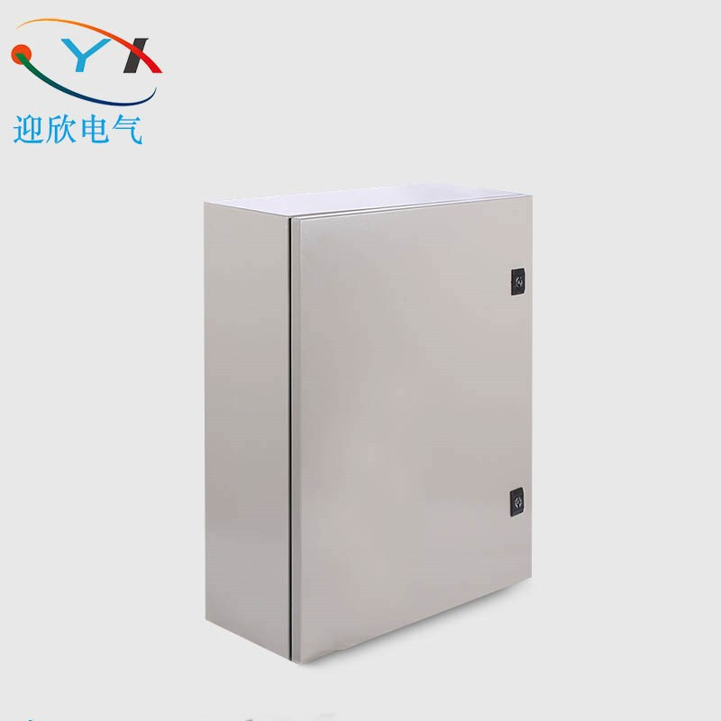 YINGXIN 400*300*150mm wall-mounted waterproof iron distribution box stainless steel junction box met