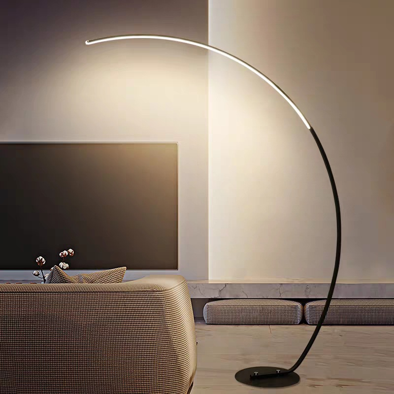 YINXIN Cross-border spot minimalist floor lamp modern creative line led floor lamp living room bedro