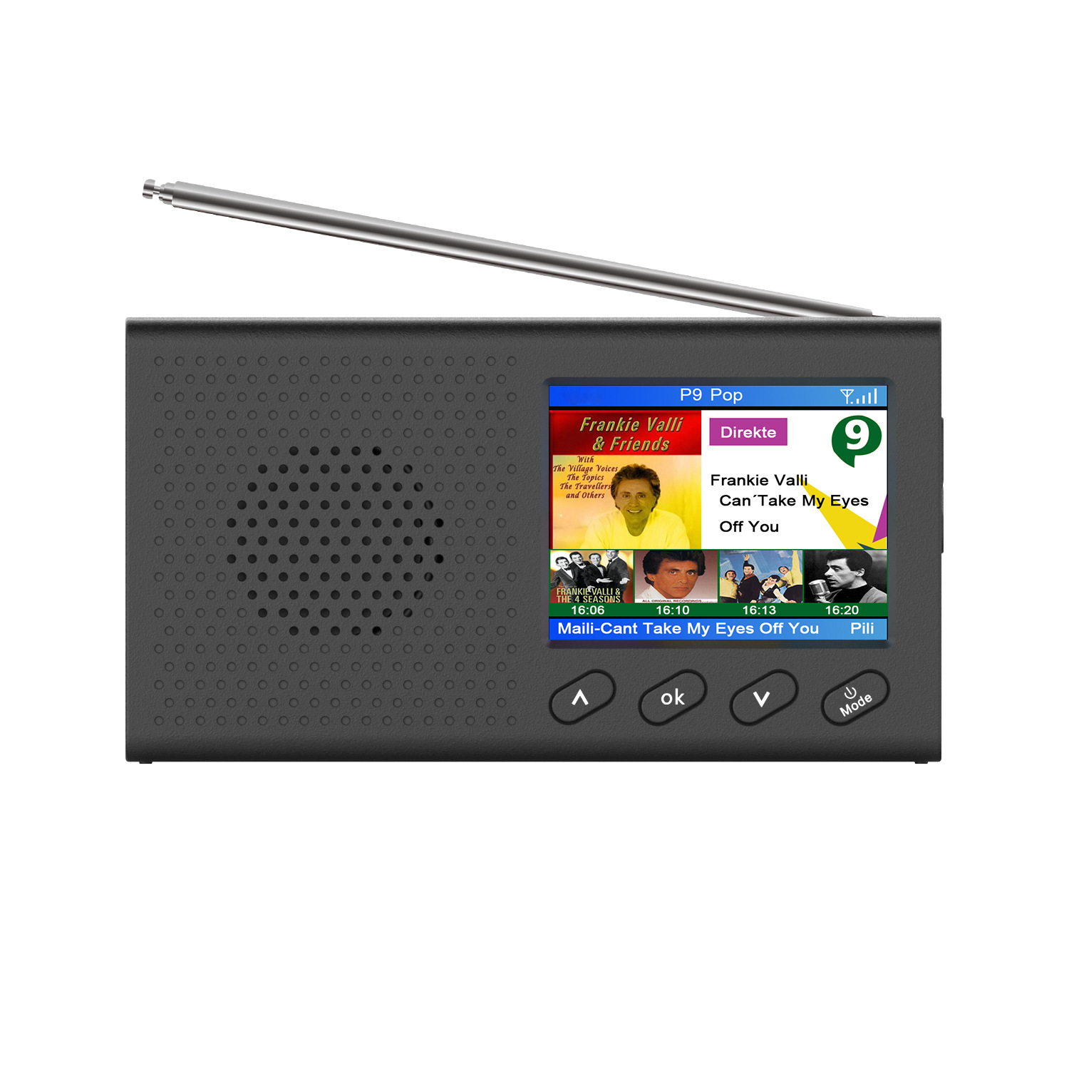 QINGMANG Multifunctional portable home DAB digital radio DAB radio