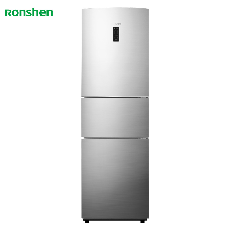 Ronshen/Rongsheng BCD-218WD12NY three-door refrigerator household mute, energy-saving and frost-free