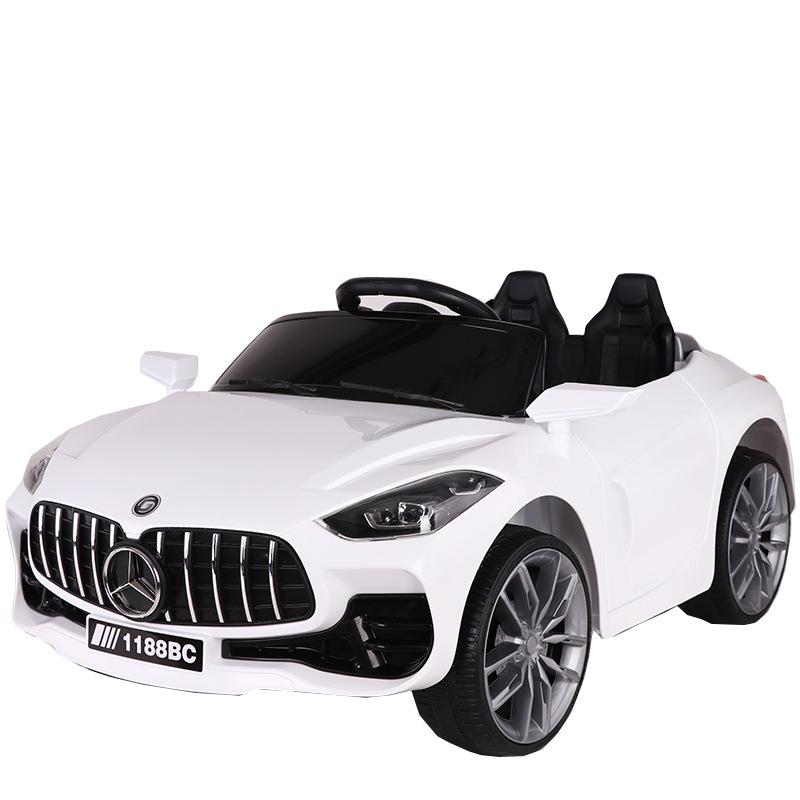 Xe điện cho trẻ em Em bé xe đồ chơi bốn bánh xe có thể điều khiển từ xa, lái xe cho trẻ em
