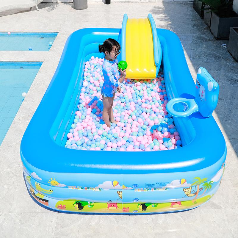 bể bơi trẻ sơ sinh Bể bơi trẻ em gia đình bể bơi quá khổ bơi bể bơi trẻ em xô hộ gia đình dày với bể