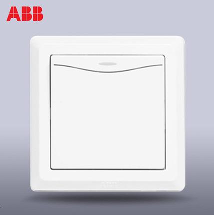 ABB Swiss ABB switch socket Deyi one open dual control switch single open dual control switch with l