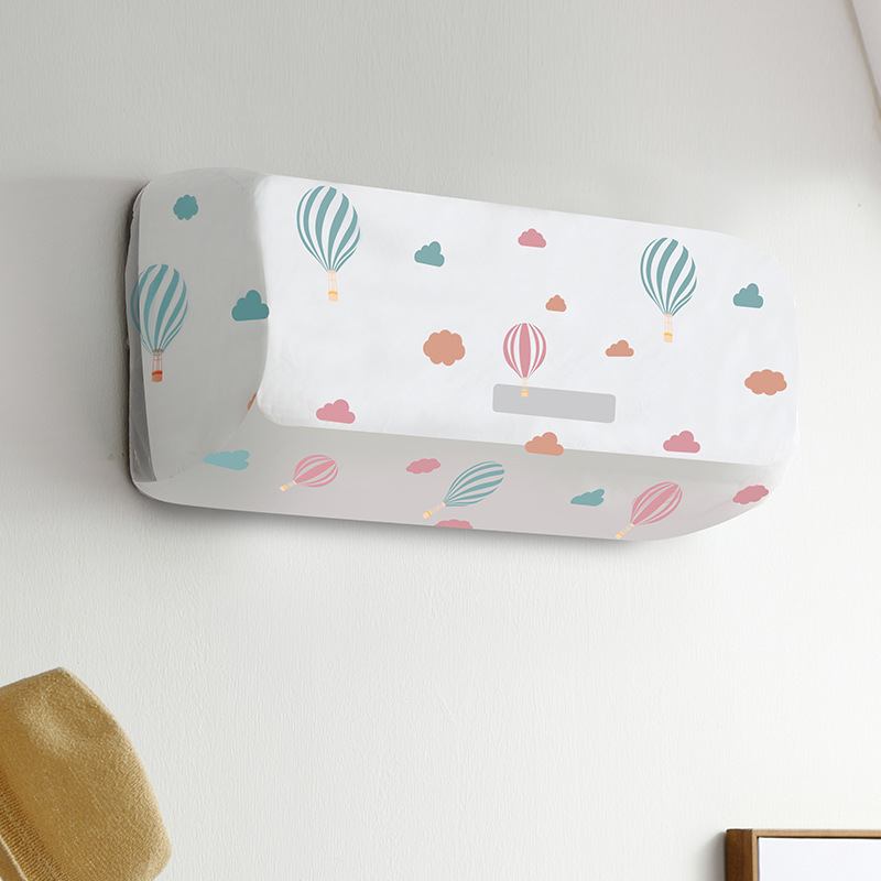 XINYOU Air conditioning dust cover hanging air conditioning set home cartoon indoor bedroom all-incl