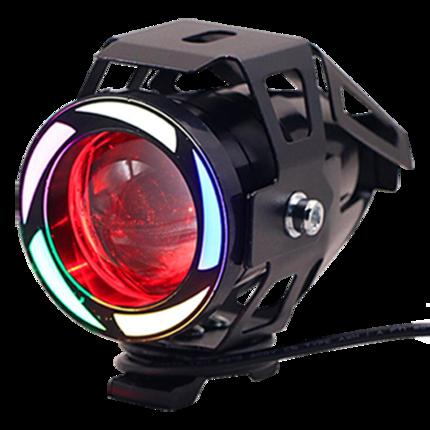 Đèn pha xe chiếu cực sáng, đèn pha led gắn xe