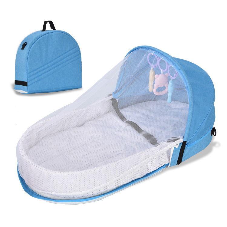 TXJB Nôi trẻ sơ sinh Giường trẻ em Giường cách ly sinh học cho trẻ sơ sinh Giường gấp Muỗi Giường gi