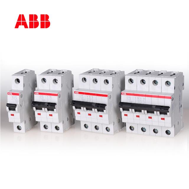 ABB miniature circuit breaker S200 series 6KA air switch 3P D characteristic 40A S203-D40
