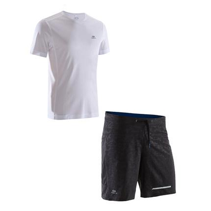 Decathlon Đồ chống nắng mau khô  Bộ đồ tập thể dục Decathlon nam chạy bộ chống nắng ngoài trời buổi