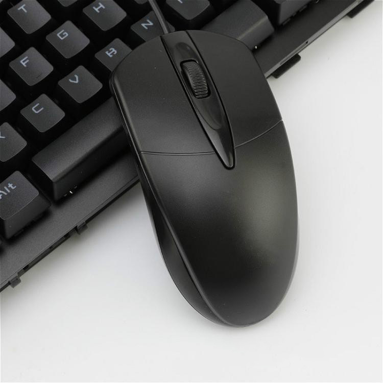 Wired USB computer gaming mouse can aggravate desktop and laptop computers