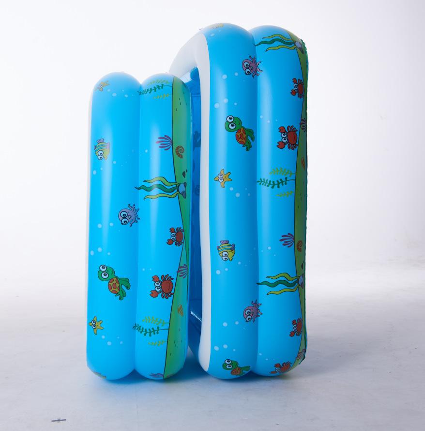 INTIME bể bơi trẻ sơ sinh Underwater World Vòng thứ hai Bể bơi hình chữ nhật Hồ bơi trẻ em Hồ bơi Câ