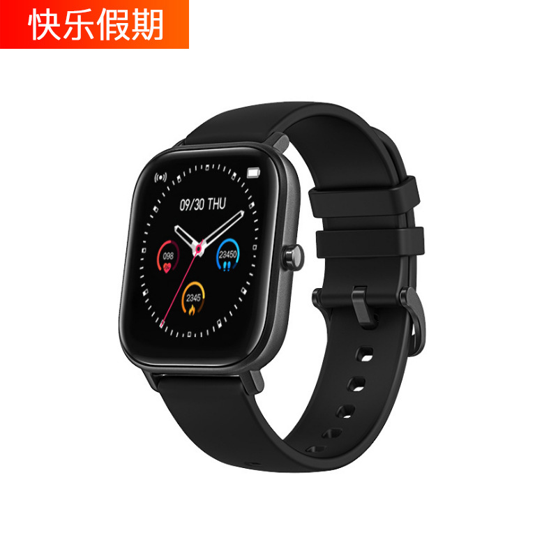KLJQ New P8 smart watch sports IP67 waterproof clock heart rate blood pressure monitor watch and oth