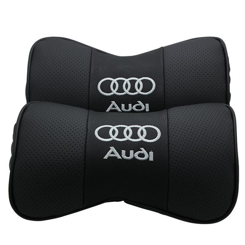 CHEHEYUAN Gối đầu xe hơi Nhà sản xuất bán buôn phù hợp cho Audi cổ gối gối đầu gối da AODI xe da bảo