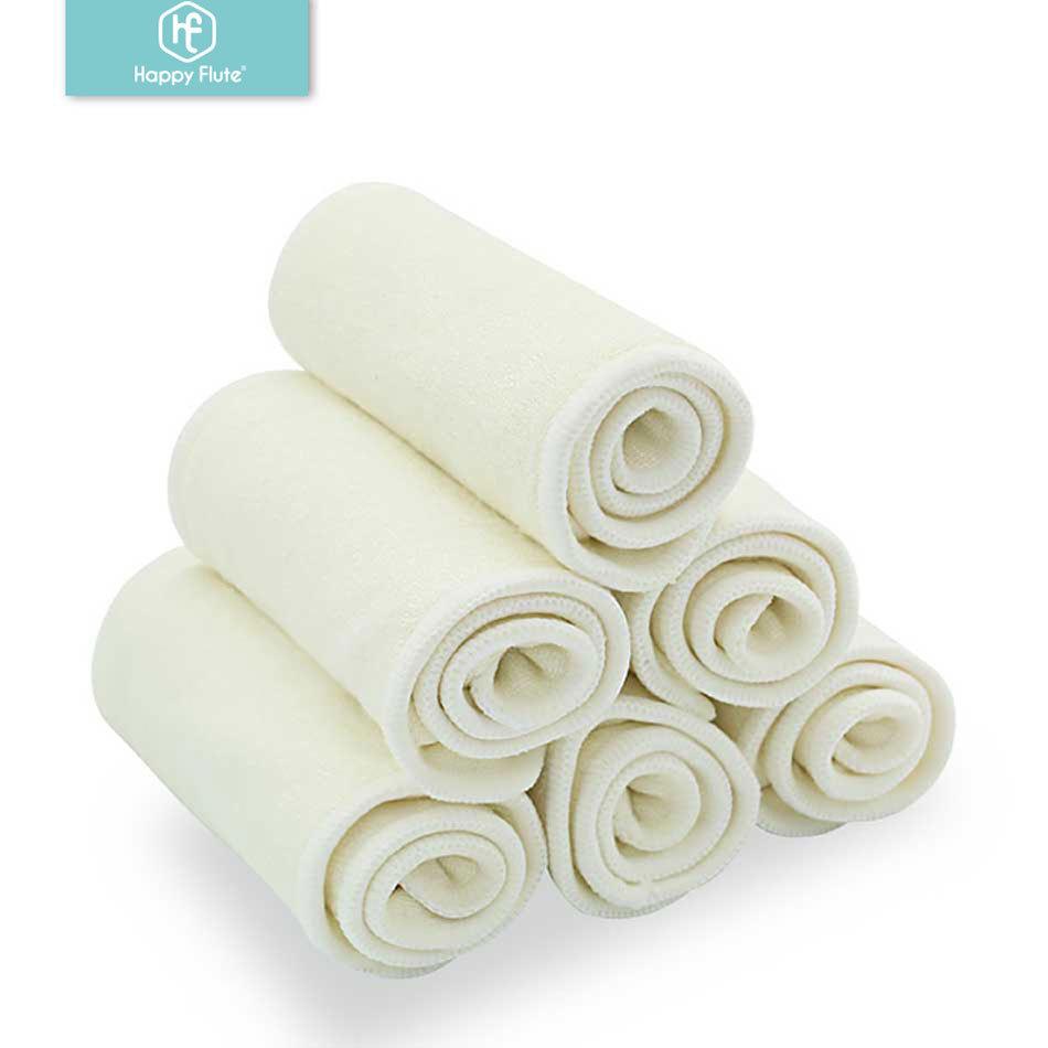 Happyflute Tả vải cho bé giặt được 4 lớp tã bằng sợi tre nguyên chất