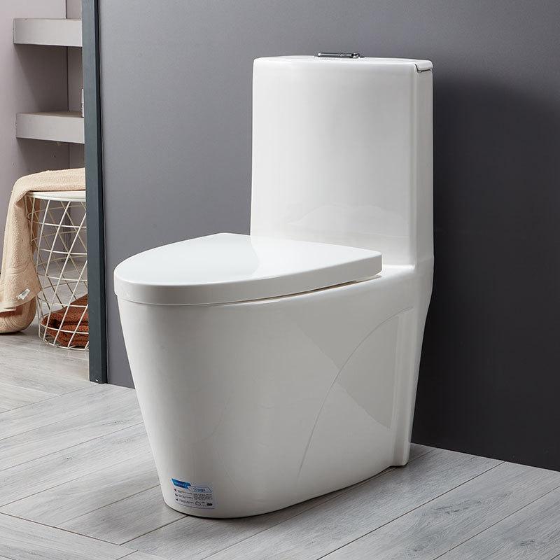 Household toilet super siphon toilet home improvement bathroom toilet toilet one-piece engineering c