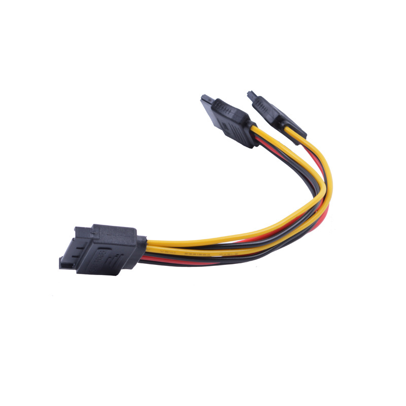 SATA power cord SATA one point two power adapter cable SATA15P revolution 2 15P female 15pin1 point
