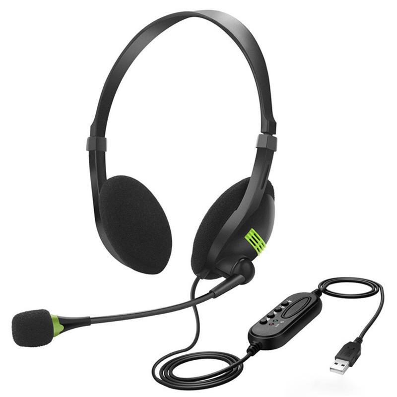 Cross-border computer USB interface headset headset headset office headset customer service call wit