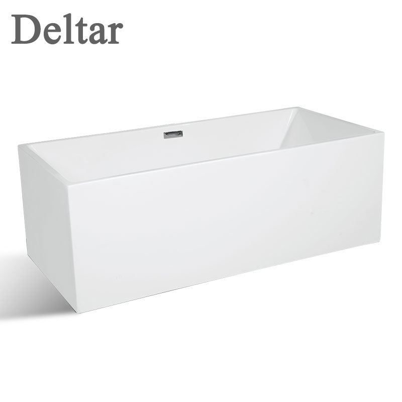 Bồn tắm 1,7m hình chữ nhật kiểu dáng đơn giản