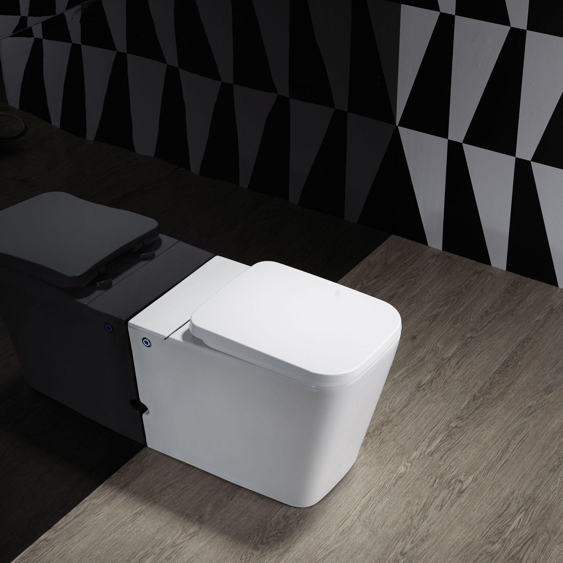 Spot wholesale ceramic toilets household small apartment large caliber no tank pulse toilet