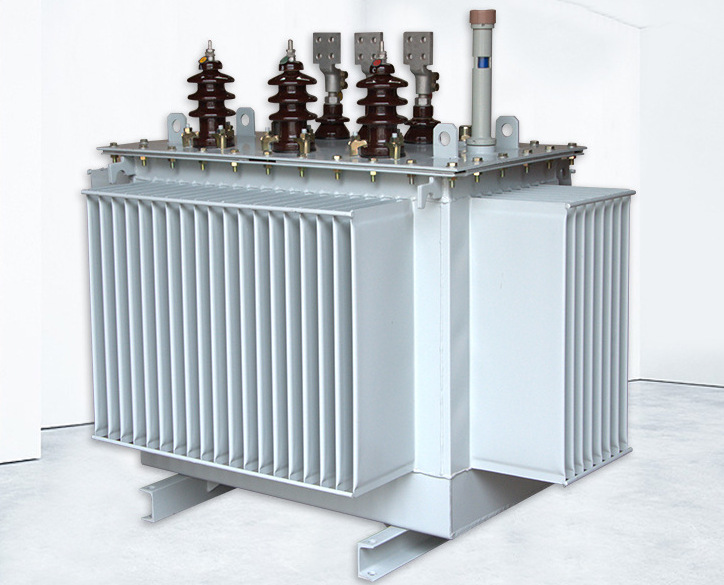 Shanxi factory direct sale fully sealed power oil-immersed transformer S11-M series low noise on pol