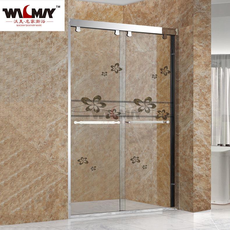 WMMJ Shower room manufacturer Stainless steel shower room Tempered glass one-line shower room Overal
