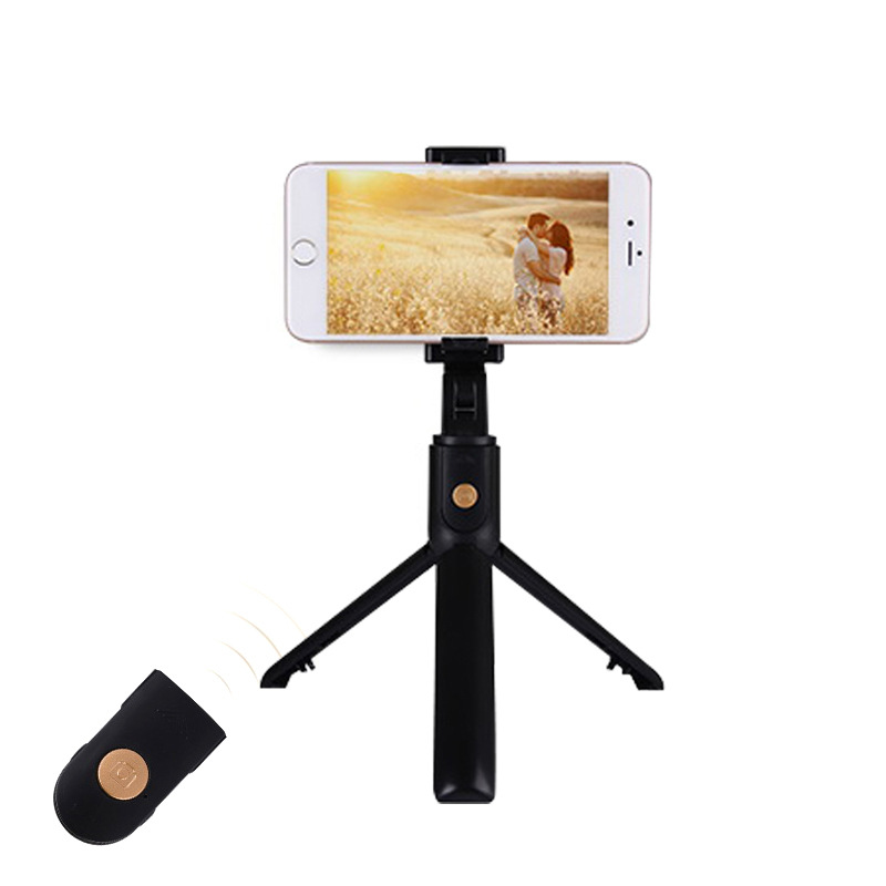 K07 bluetooth selfie stick one piece delivery remote control high-end tripod mobile phone universal