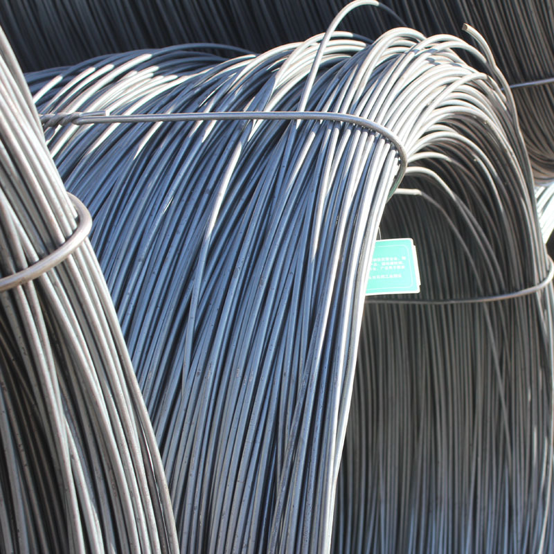 Factory direct sales of a large number of stock 6/8/10mm steel coils, ordinary high-speed wire coils