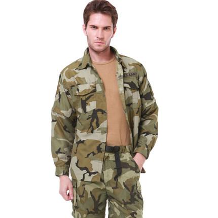 Đồ chống nắng mau khô  Đồng minh ngụy trang ngoài trời quần áo nhanh khô quần áo nam có thể tháo rời