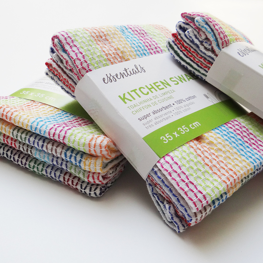 RUIER HOME Japanese and Korean home kitchen with double four-pack scouring pads