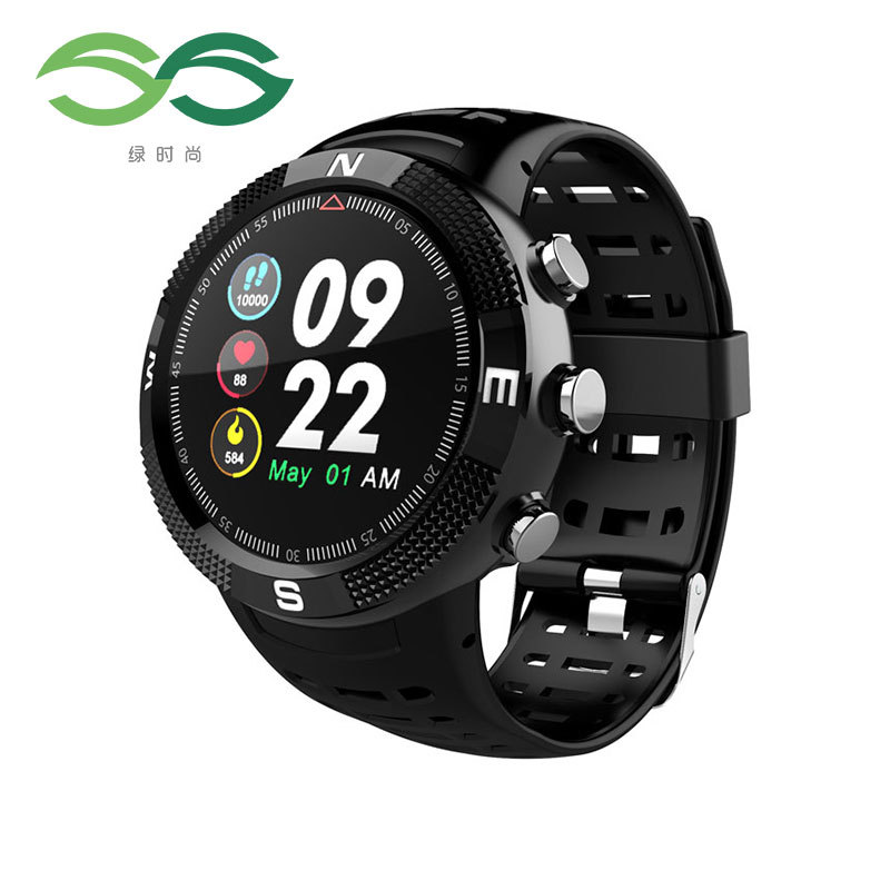 SS Green fashion cross-border F18 smart watch GPS Beidou GLONASS suitable for Samsung global positio