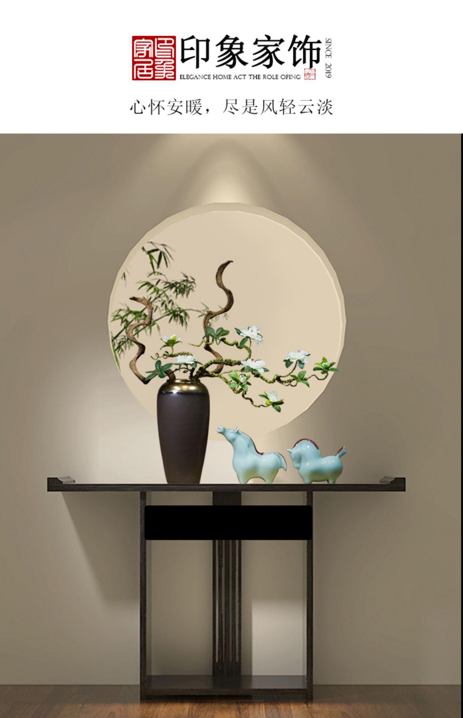 Những chiếc bình phong cổ điển mới của Trung Hoa, những đồ trang trí trên mái hiên phòng khách, được