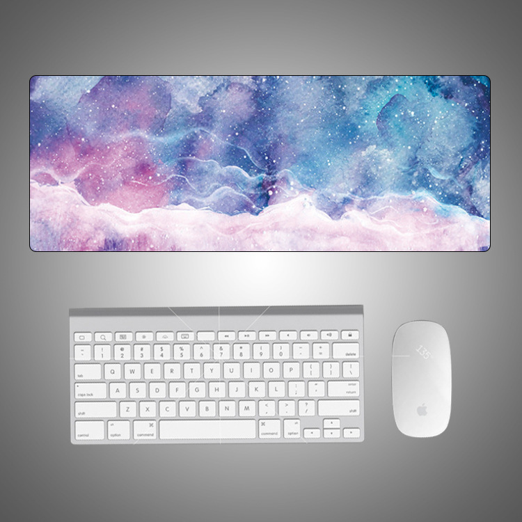 AILONG Creative marble color desk mat oversized mouse pad cartoon office