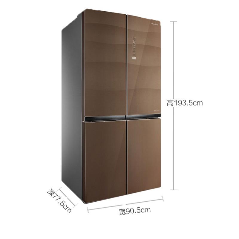 Tủ lạnh biến tần đa cửa kép Midea / BCD-460WGPM không sương 460 lít
