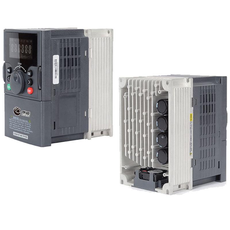 Inverter three-phase 380V1.5 2.2 5.5 7.5 11kw water pump household single-phase 220V motor speed con