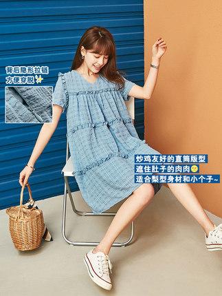 Phong cách Hàn Quốc Váy lưới ngắn tay lưới nữ 2020 yêu váy mùa hè mới váy búp bê phiên bản Hàn Quốc