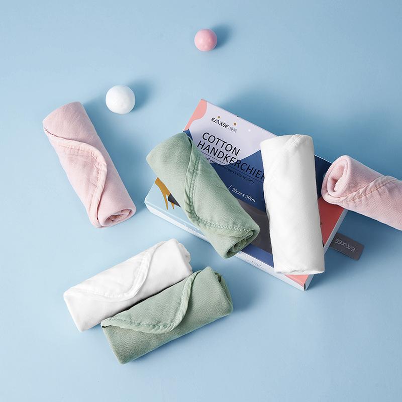 Em bé áo tắm, khăn tắm, khăn tắm, khăn tắm, khăn tay trắng, khăn tắm nhỏ, khăn bông