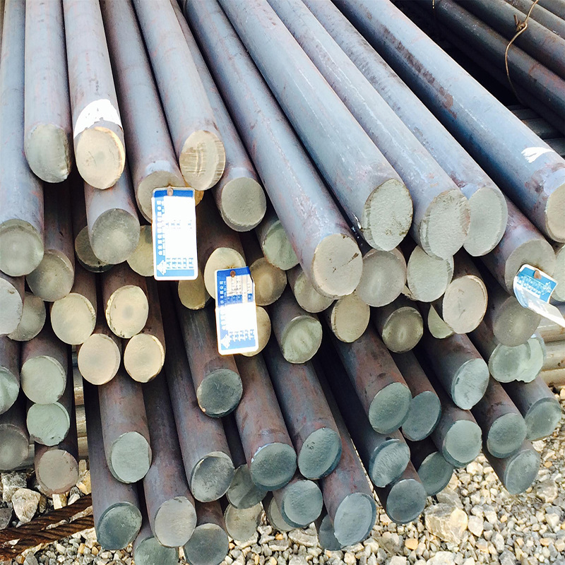 A3 construction round steel cutting Linggang Q235B general round carbon structure 45# round steel wi