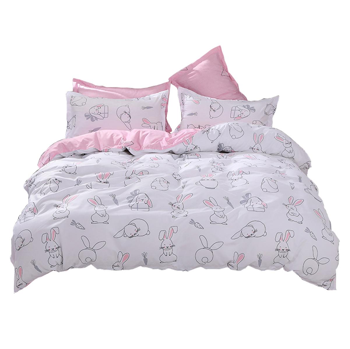 Bộ drap giường Lô thứ chín của mẫu bông mới ba hoặc bốn bộ