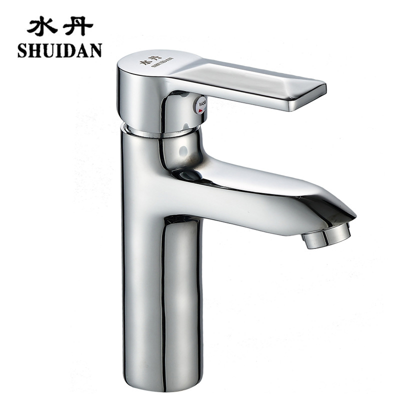 SHUIDAN Sanitary Ware Wholesale Copper Faucet Faucet Bathroom Washbasin Washbasin Basin Cold and Hot