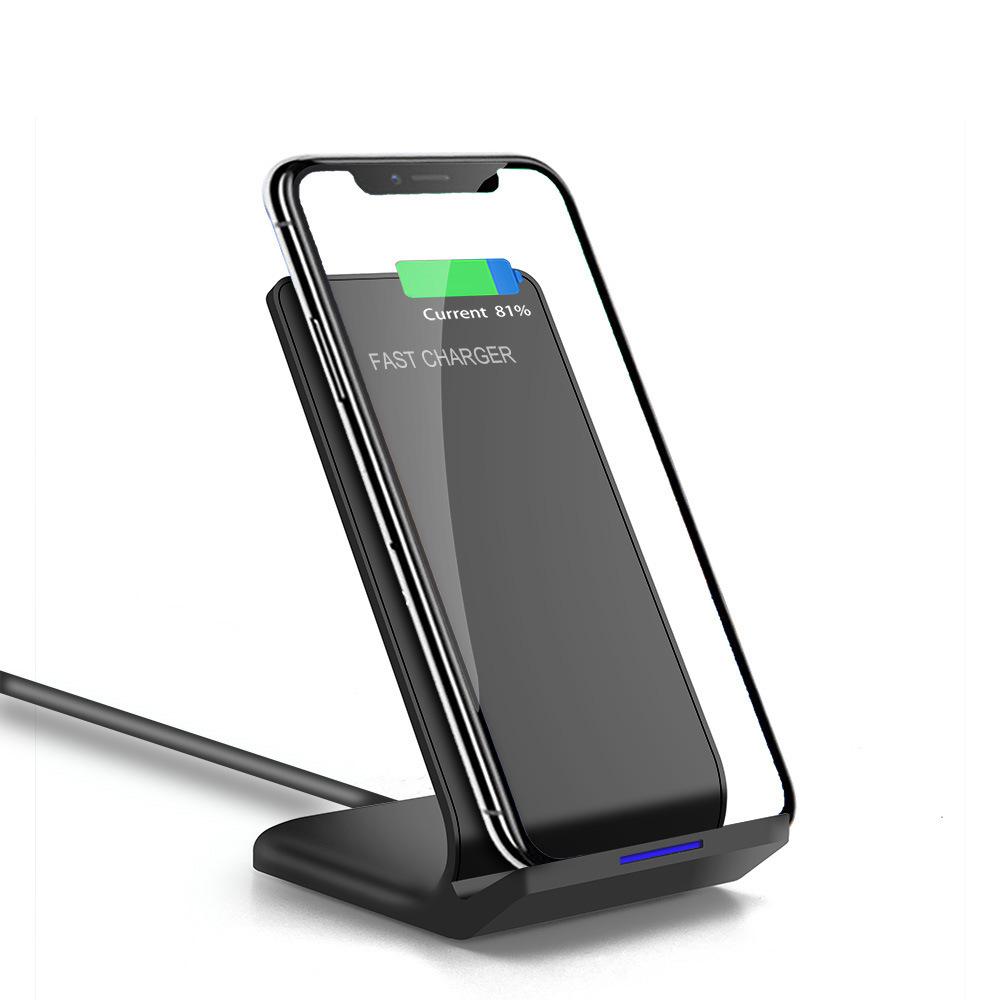 Chân đế sạc không dây dọc cho điện thoại di động Apple iPhone8 / XR / XS Samsung S8 / S9