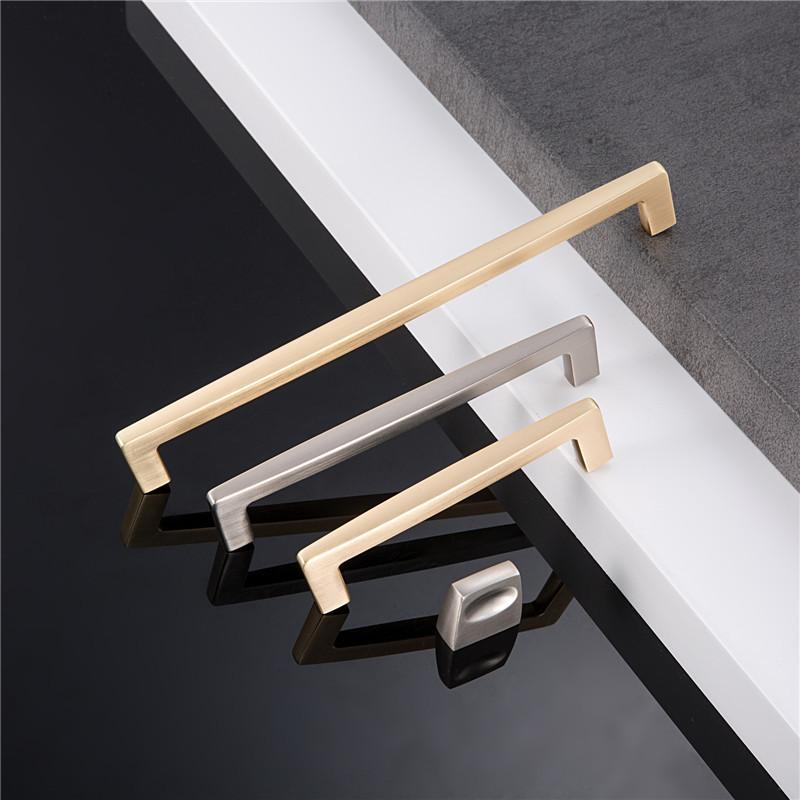 SENMIAO Thị trường ngũ kim Rắn lỗ đơn đồ nội thất phụ kiện phần cứng ngăn kéo tủ cánh tay cầm Mỹ chả