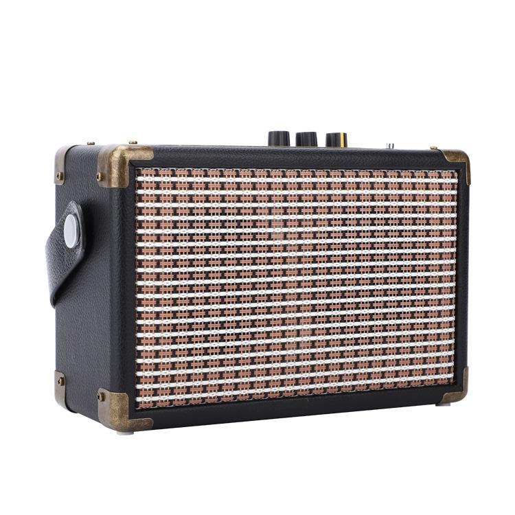 Medaya Retro Bluetooth Speaker Multifunctional Bluetooth Audio Retro Radio Wooden Multifunctional Sp