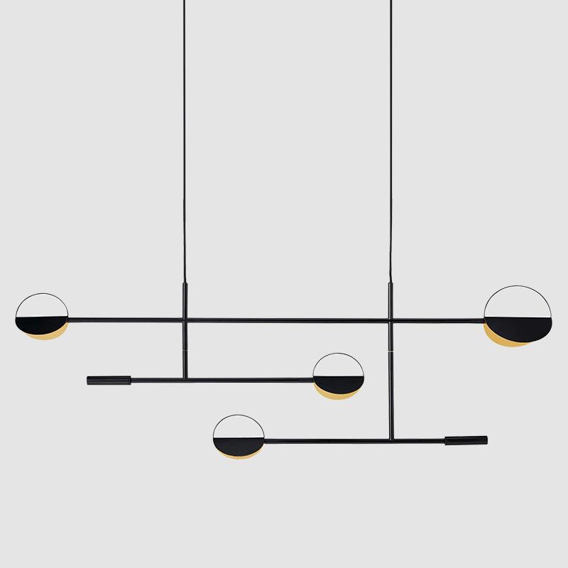 Scandinavian minimalist restaurant bar chandelier post-modern creative designer shop cafe decorative
