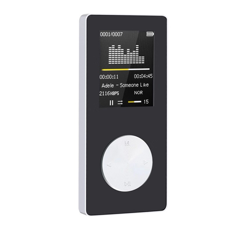 HXJY Metal MP3 MP4 player voice recorder factory wholesale bluetooth walkman u disk mp3